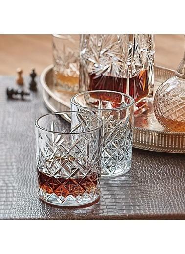 Paşabahçe 52810 Timeless 4 Lü Viski Bardak - Viski Meşrubat Bardağı Renkli